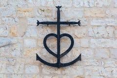 Croix de Camargue en Provence, France photos stock
