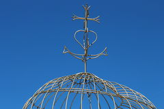 Croix de Camargue pour la foi, l'espoir et l'amour dans Martigues Photos libres de droits