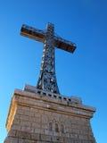 Croix de Caraiman Images stock