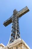 Croix de Caraiman Photo stock
