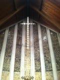 Croix de cathédrale pour le Christ Photos stock