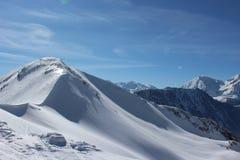 Croix de Chamrousse. Mountain Peak snow Royalty Free Stock Images