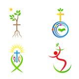 Croix de christianisme illustration de vecteur