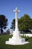 Croix de cimetière de WWII Image libre de droits