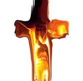 Croix de fonte Image libre de droits
