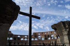 Croix de gladiateurs Photographie stock libre de droits
