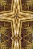 Croix de kaléidoscope : Pavillon thaïlandais Images stock