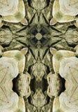 Croix de kaléidoscope, rochers de côte de l'Orégon Photos libres de droits