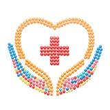 Croix de médecin Photo stock
