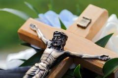 Croix de mariage Images stock