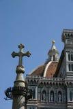Croix de Moyen Âge Photo libre de droits