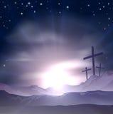Croix de Pâques Images libres de droits