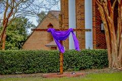 Croix de semaine sainte Photos libres de droits