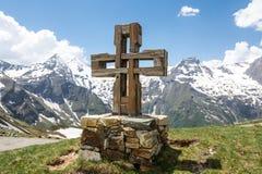 Croix de sommet Photo stock