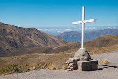 Croix de sommet Photos libres de droits