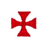 Croix de Templar Images libres de droits