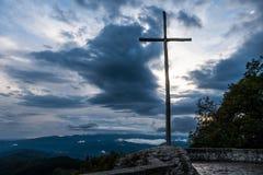 Croix de verna de La Photo stock