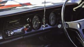 Croix de voiture photo stock