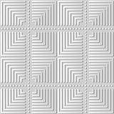 croix Dot Line rond de contrôle de place d'art du livre blanc 3D Images libres de droits