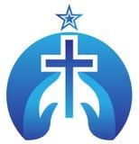 Croix du Christ illustration de vecteur
