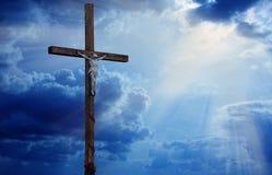 Croix en bois. Images libres de droits
