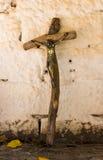 Croix en bois de Jésus Photographie stock