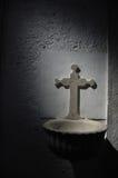 Croix en pierre Photographie stock libre de droits