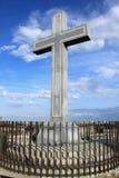 Croix en pierre Photos libres de droits