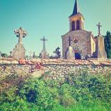 Croix en pierre Image libre de droits