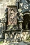 Croix en pierre baptisée du nom de Kurde et de Horishah à l'entrée occidentale Images stock