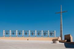 Croix et Bells photographie stock libre de droits