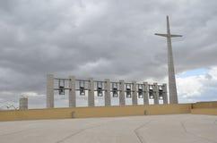 Croix et cloches Images libres de droits