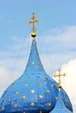 Croix et couples à la cathédrale de Kremlin Image stock