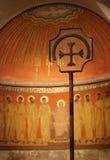 Croix et disciples photos stock