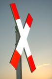 Croix ferroviaire 2 photo libre de droits