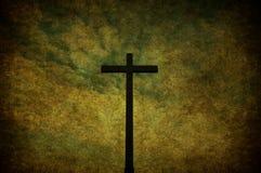 Croix grunge Photo libre de droits