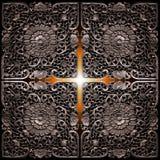 Croix légère Image stock