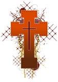 Croix lourde de couleur Photo stock