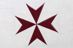 Croix maltaise Image stock