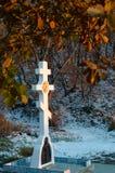 Croix orthodoxe Image libre de droits