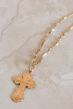 Croix orthodoxe grecque Photo libre de droits