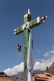 Croix péruvienne photo stock