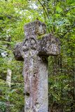 Croix Pucelle em Saint Germain Forest, França foto de stock royalty free