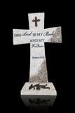 Croix religieuse photo stock
