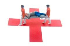 Croix-Rouge Images libres de droits