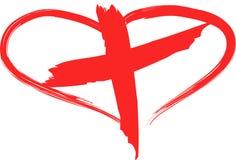 Croix-Rouge Photos libres de droits