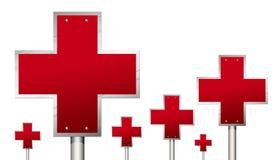Croix-Rouge Photographie stock libre de droits