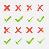 Croix-Rouge et coutil vert illustration libre de droits