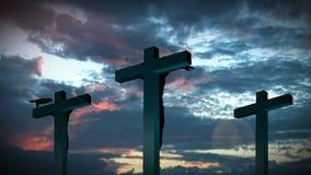 Croix sainte 5 banque de vidéos