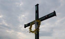 Croix sainte Photo libre de droits